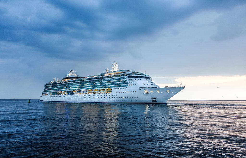 круизен кораб, пътуване