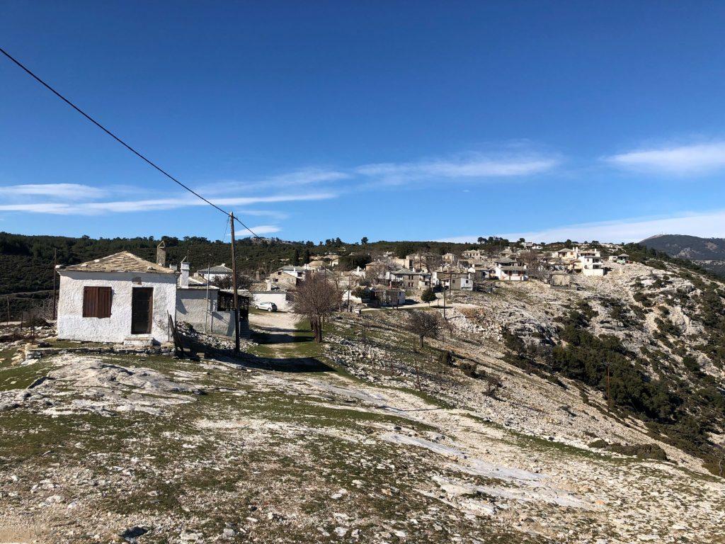 Kastro Κάστρο village Thasos Tasos тасос