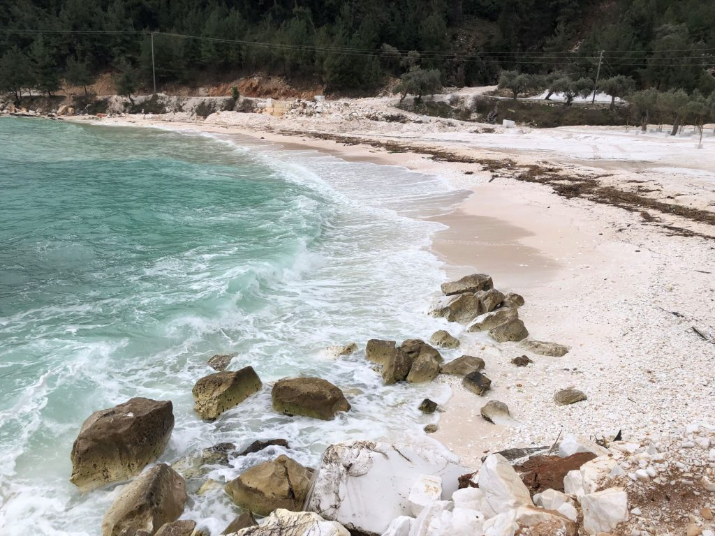 Porto Vathy beach тасос Thasos tasos