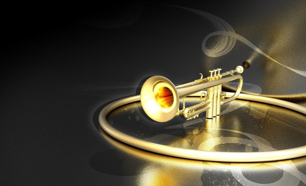 trumpet, musical instrument, listen to the Universe
