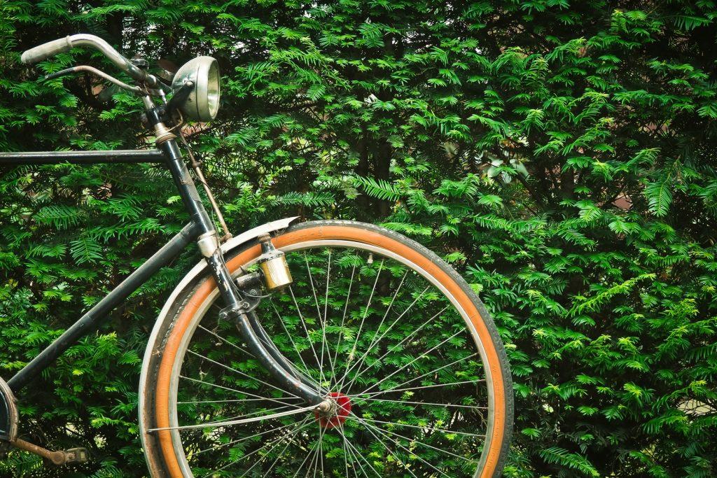 vintage wheel old bicycle